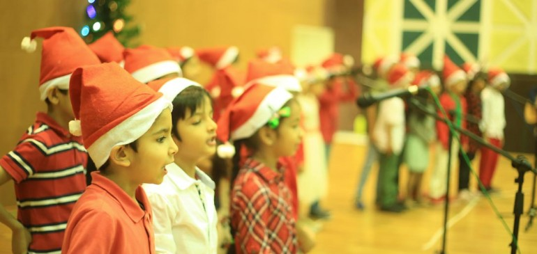 Christmas Celebrations at Mount Litera School International