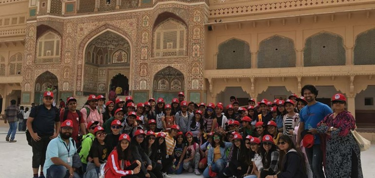 Students of Mount Litera School International went on an educational trip to Jaipur & Ranthambore National Park