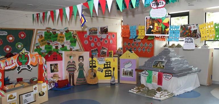 Students of Mount Litera School International celebrated Cultures Mela.