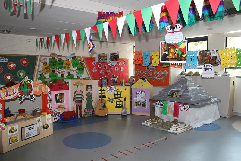 Students of Mount Litera School International celebrated Cultures Mela.
