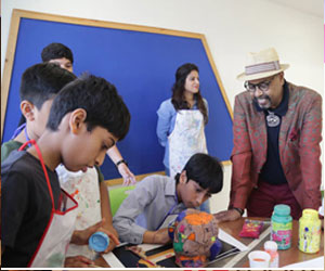 Padma Shri Paresh Maity shares his thoughts on the importance of Art in child's development at MLSI