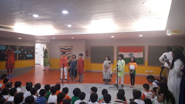 Independece day celebration at MLSI