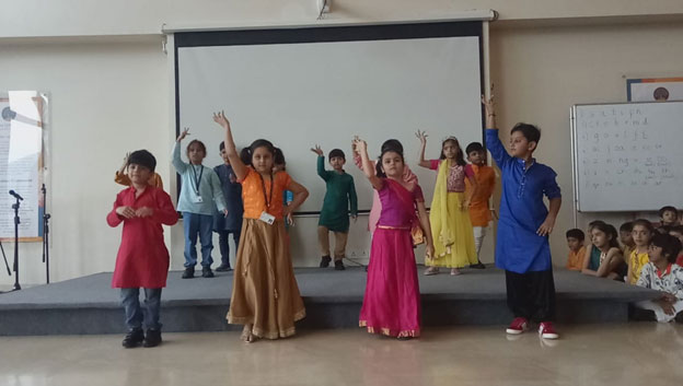 dance performance at international preschool